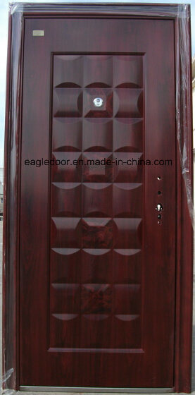 High Quality Single Leaf Security Door (EF-S057)