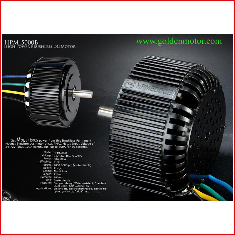 Electric Car Motor (HPM5000B)