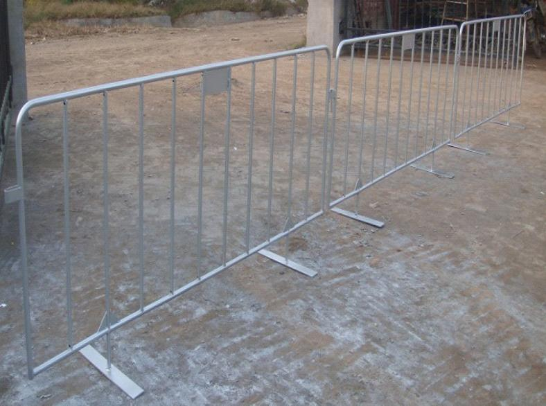 Temporary Fence Traffic Control Barrier