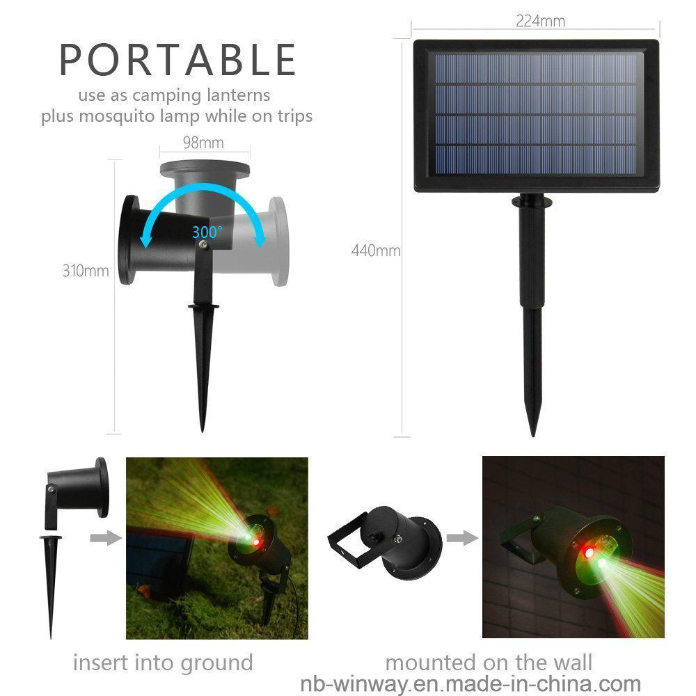 Solar Garden Laser Light for Party