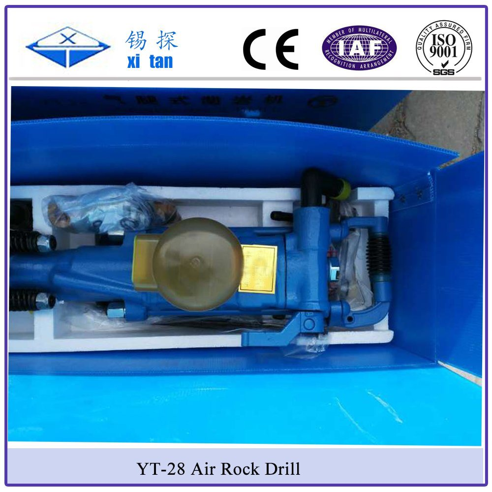 Xitan Yt28 Pneumatic Portable Rock Drilling Rig Yt Drilling Machine