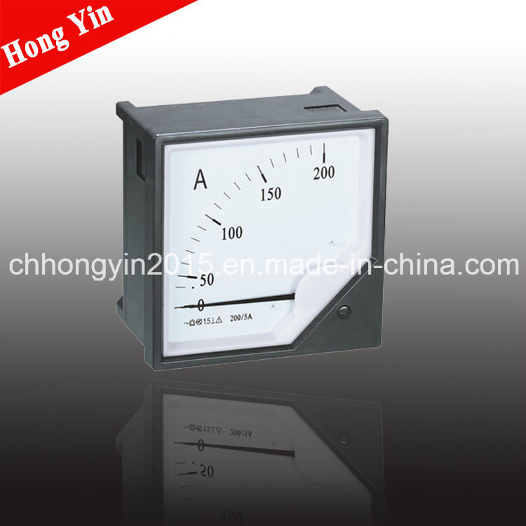 80*80 6c2-a Mounted Analog Panel Current Meter