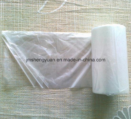 HDPE Plain Star Sealed Plastic Garbage Bag