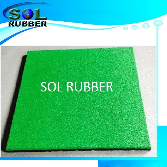 CE Certificated EPDM Playground Rubber Floor Tile