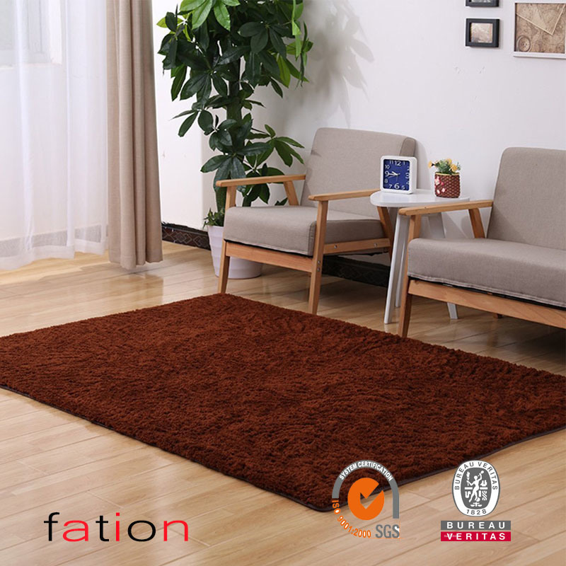 Home Decorator Modern Shag Area Rugs Super Soft Solid Living Room Carpet