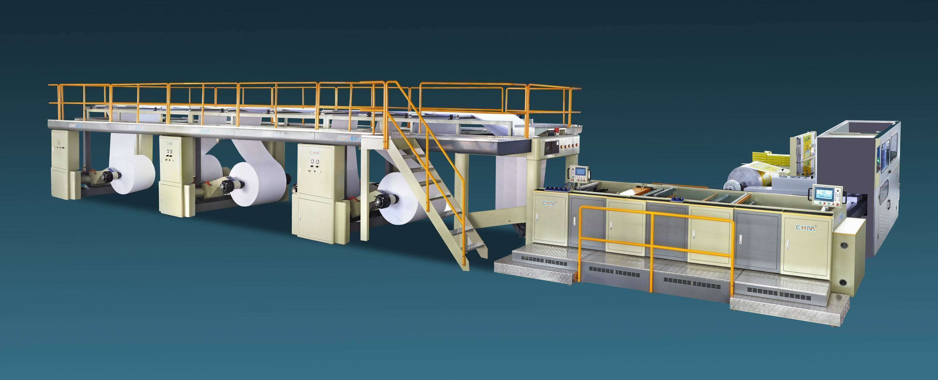 A4 Cut Size Sheeting and Wrapping Machine (CHM-A4)