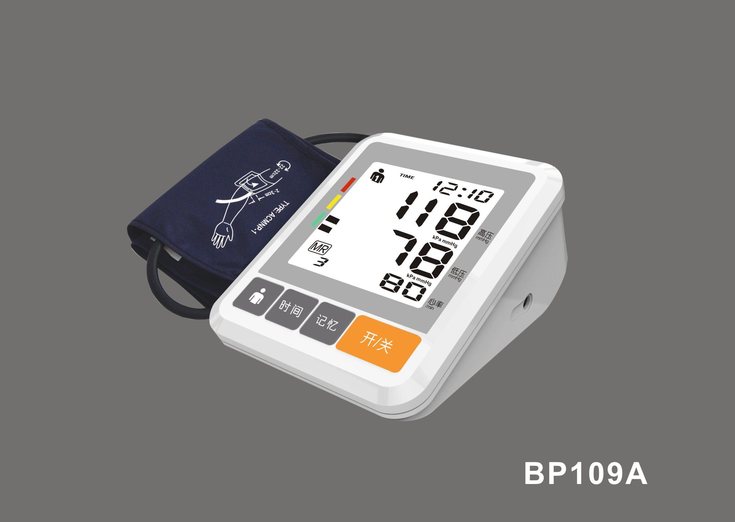 High Quality Blood Pressure Monitor with Ce and ISO