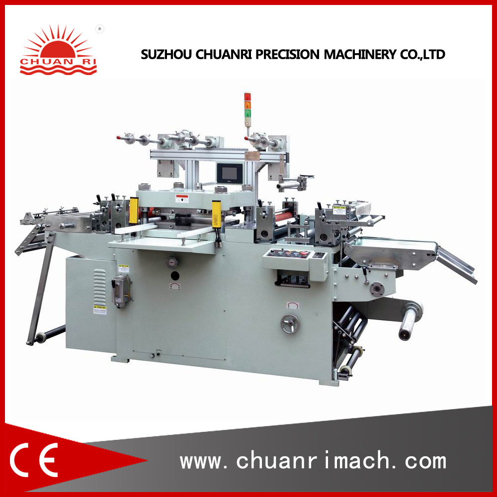 Induction Cap Seal Liner, Hung Tabs, Foam Tape Die Cutting Machine (Automatic Die Cutter)