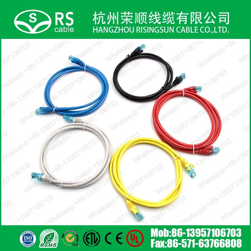 CAT6 Strand Copper Conductor Patch Cord Ethernet LAN Network Cable