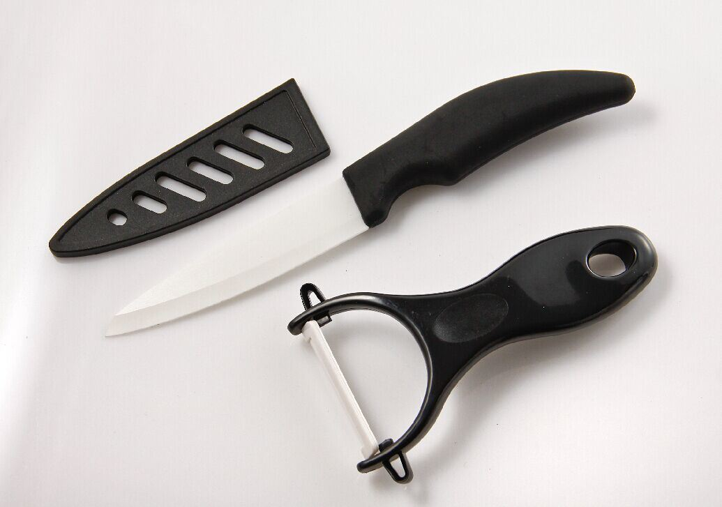 4 Knife with Cover and Peeler