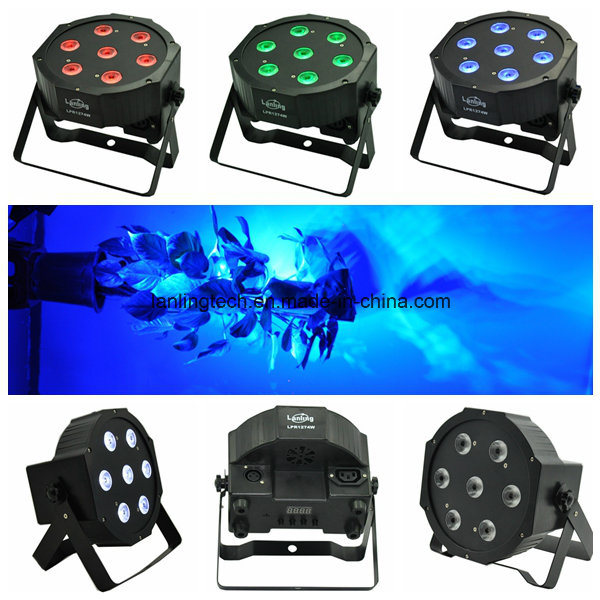 70W RGBW LED Stage PAR Light for Wedding/Party