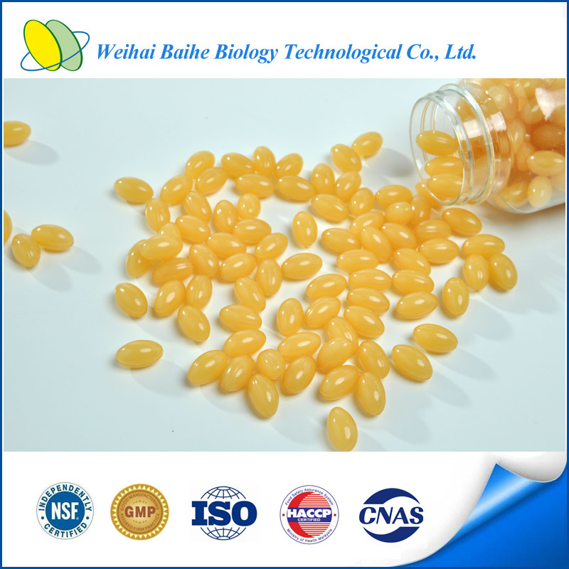 GMP Certificated & OEM Royal Jelly & Ginseng Extract Softgel Capsule