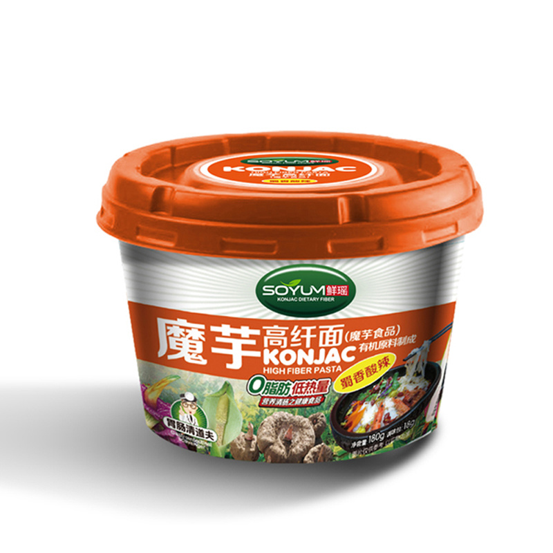 Konjac Cup Noodles with Hot Spicy Flavor