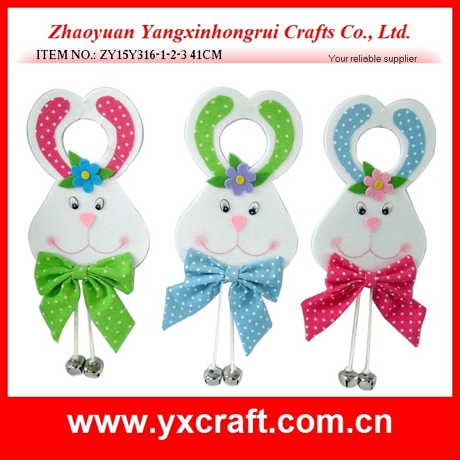 Easter Decoration (ZY15Y316-1-2-3) Easter Doorknob Hanging Cartoon Characters