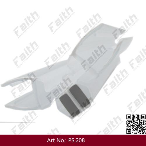 Durable Frameless Glass Shower Door Magnatic PVC Seal (PS. 208)