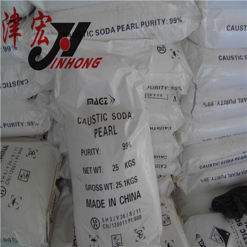 Naoh Beads, 99% Caustic Soda Pearls