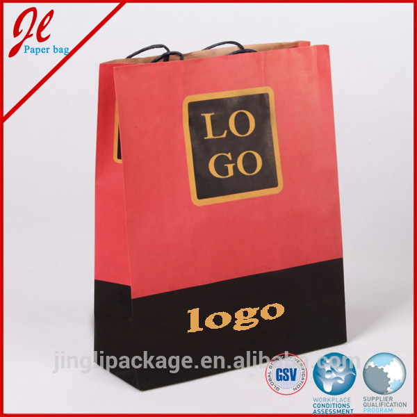 Fashion Shopping Paper Bags Craft Paper Bags Kraft Paper Bags with Logo