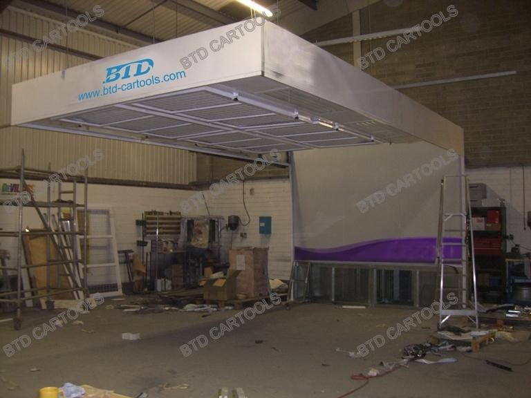 Car Polishing Booth /Car Prep Station