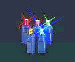 Decoration Gift LED Christmas String Light with Glass Craft (LB50.5mm. 02)