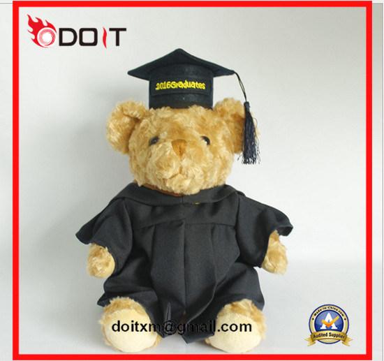 White Plush Stuffed Graduation Bear Graduation Teddy Bear