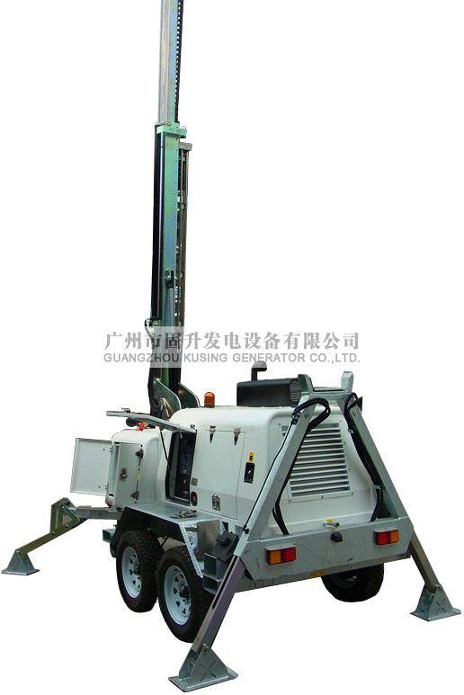 Mobile Light Tower Generator Set/Diesel Genset /Diesel Generating Set/Genset/Diesel Genset