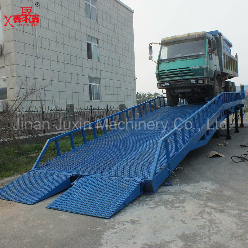Forklift Used Loading Unloading Yard Ramp Container Ramp