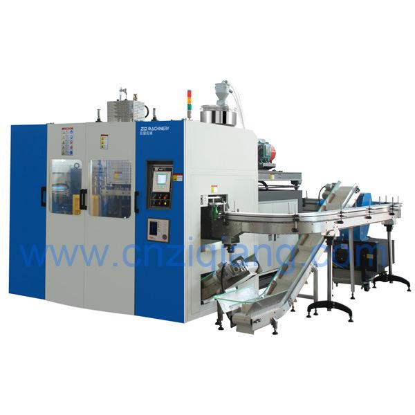 Plastic Container Automatic Extrusion Blow Moulding Machine Manufacturer (Double-Station-5L)
