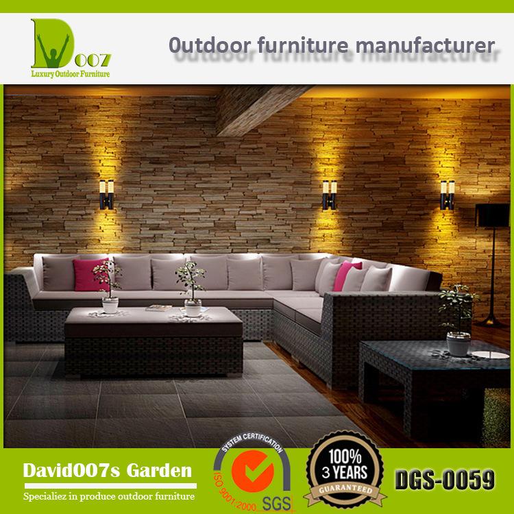 Rattan Sofa Set Outdoor Furniture Sectional Sofa Set Garden Furniture