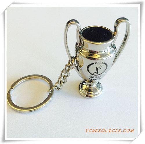 Promotion Custom Printed Metal Keychain with Logo (PG03088)