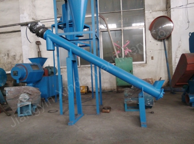 Small Rubber Powder Screw Conveyor