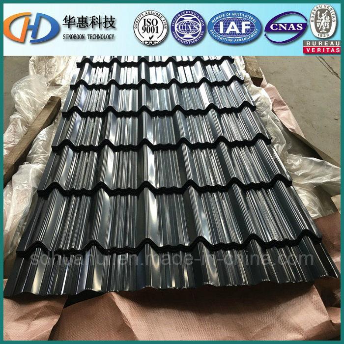 Glazed Corrugated Roofing Tile Made of PPGI