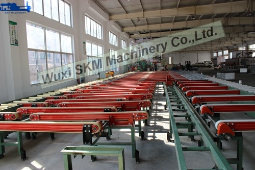 2017 Aluminium Log System /Convey System/ Transfer System with Easy Installation