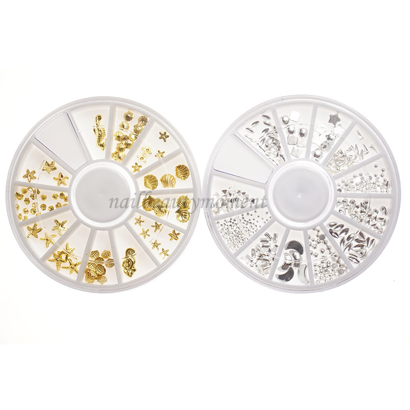 Manicure Nail Art Metal Beauty Decoration Wheel Products (D82)