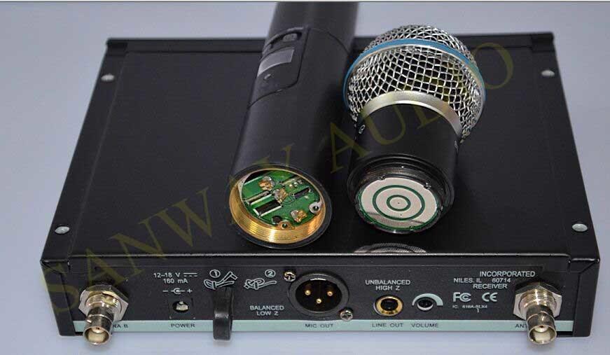 Slx Series Karaoke UHF Wireless Microphone, Wireless Lavalier Microphone
