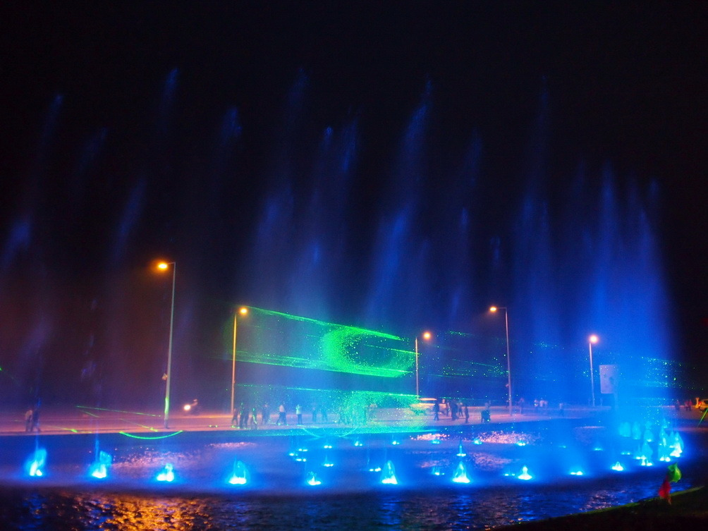 Congo National Day Outdoor Music Fountain