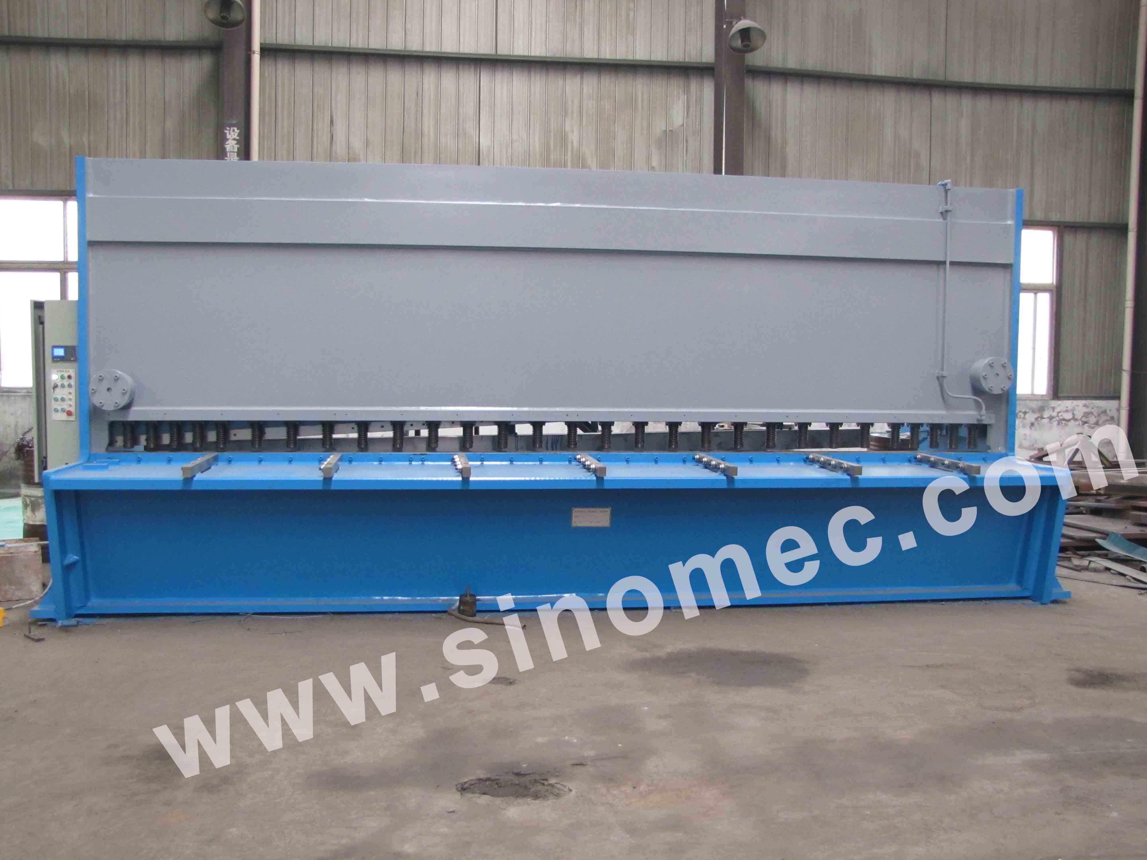 CNC Guillotine Shear / Cutting Machine / Hydraulic Shear Machine (QC11Y-20X6000)