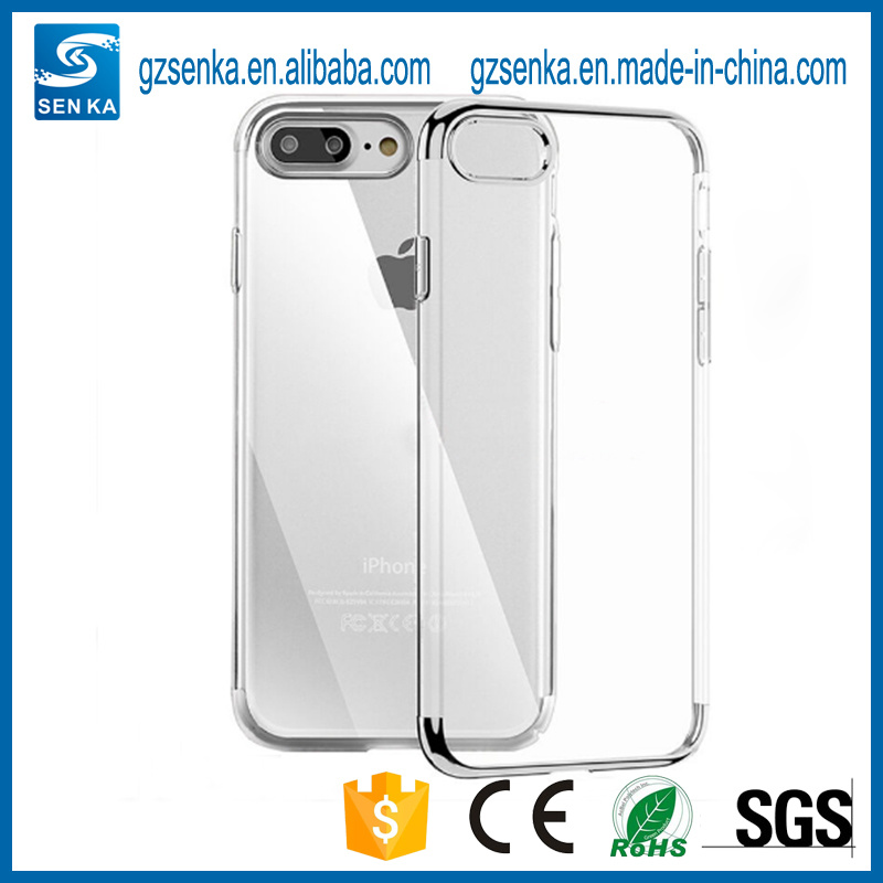 2017 New Design High Protective Full Cover Mobile Phone Transparent Soft Cell Phone Case for iPhone 6/6s/6plus