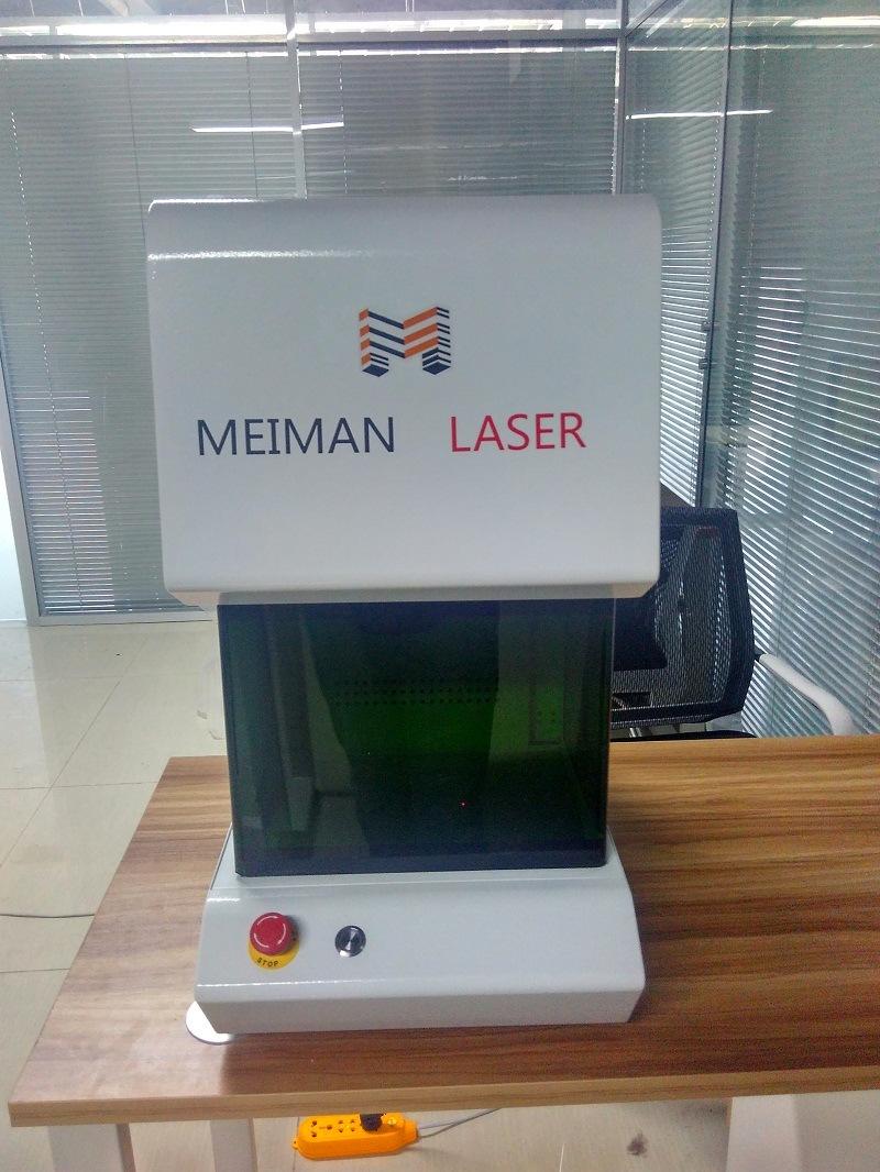 Bar Code Pet Tag ID Laser Engraving Machine