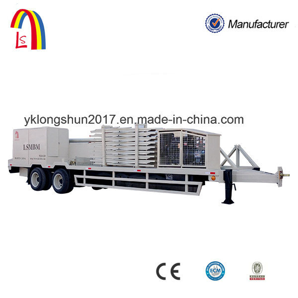 240 China Make Auotomatic Mobile Trussless Arch Roof Roll Forming Machine