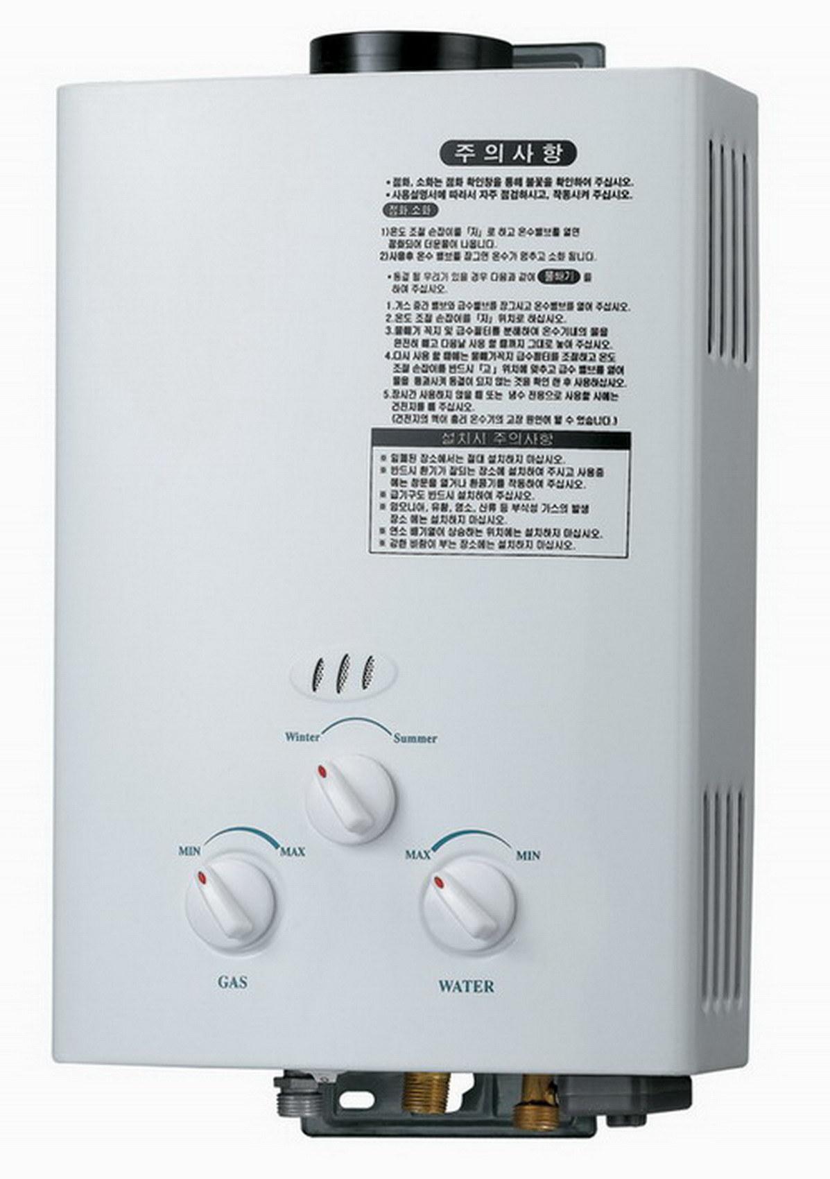 6-12litre Flue Instant Gas Water Heater Jsd-Scj-A4