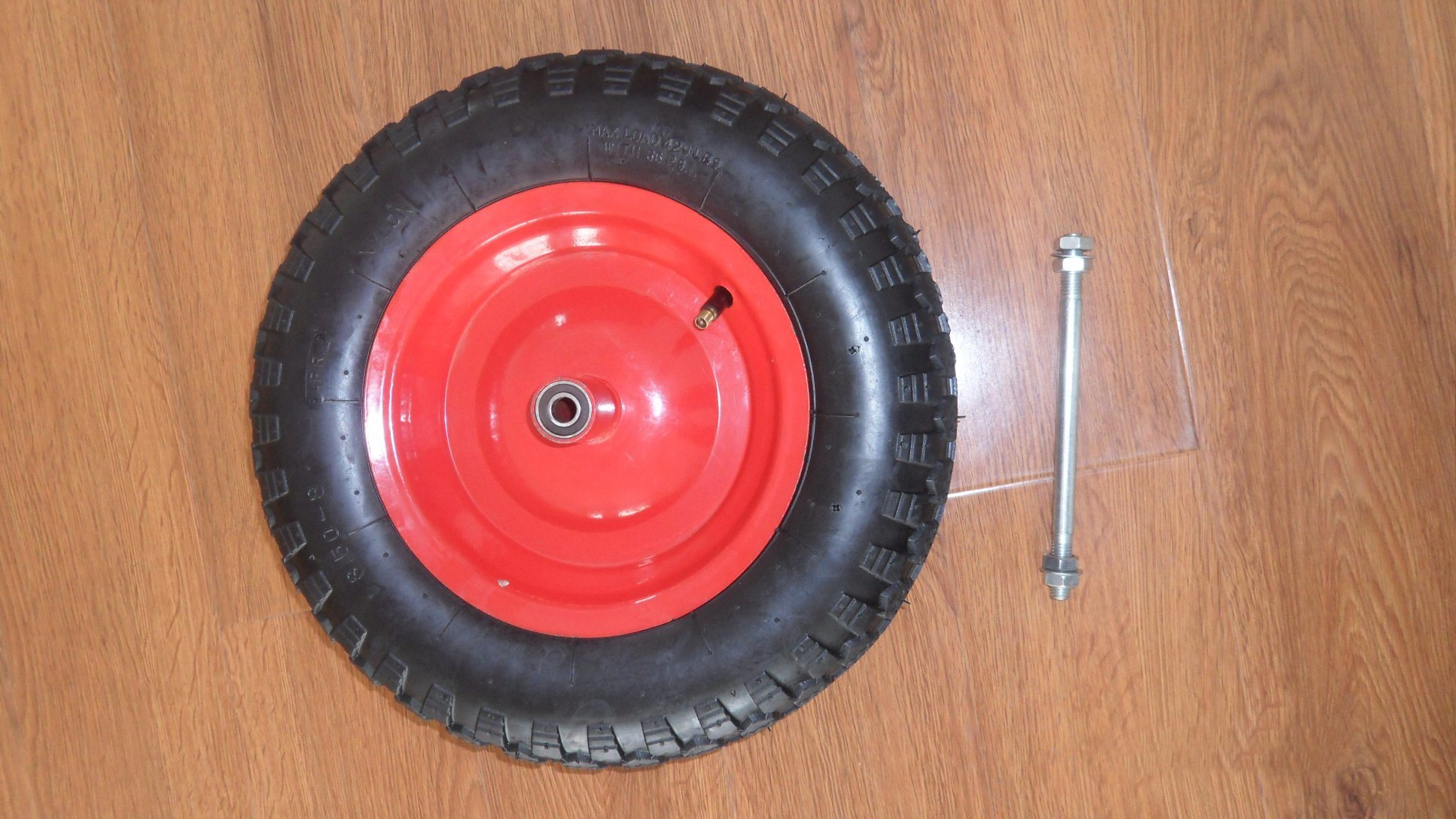 Wheelbarrow Pneumatic Rubber Wheel 3.50-8 Popular in Italia