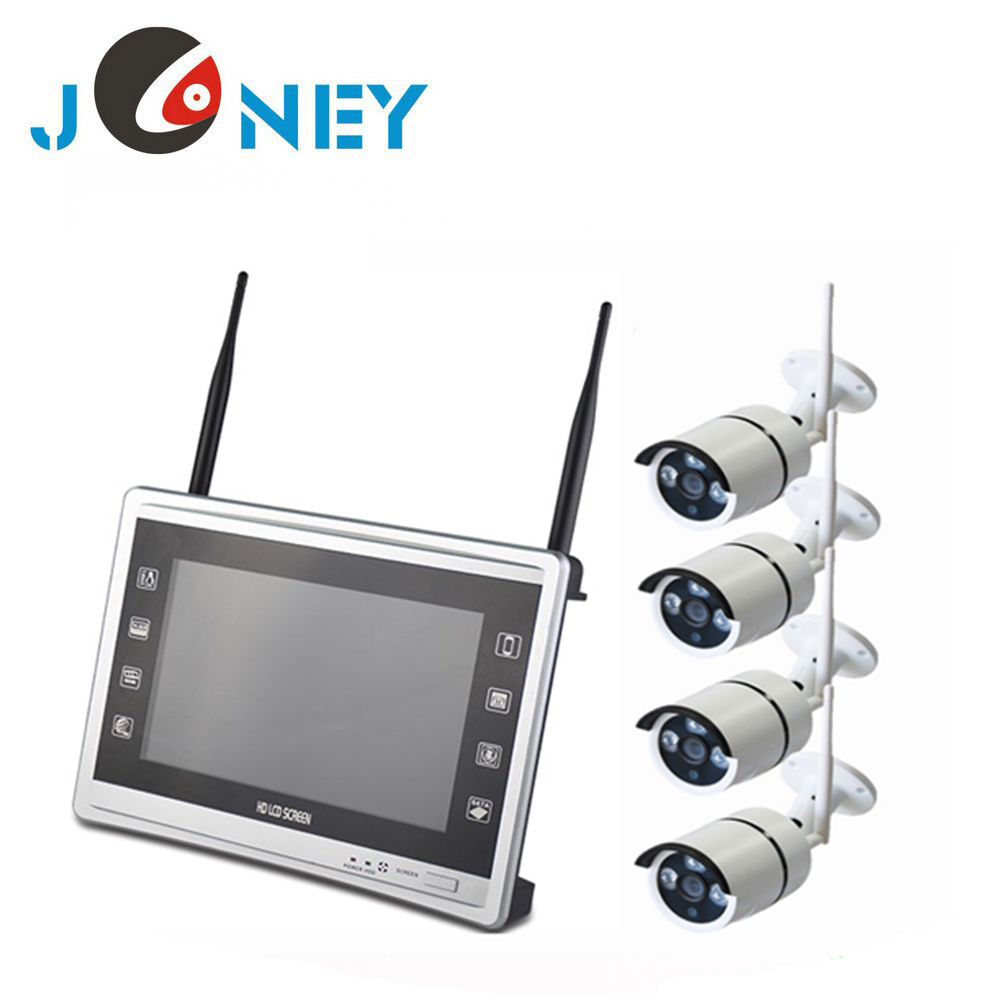 China Supplier Factory Price 4CH 8CH720p 960p 1080P Home Security CCTV Camera Systems WiFi Wireless NVR Kit CCTV System