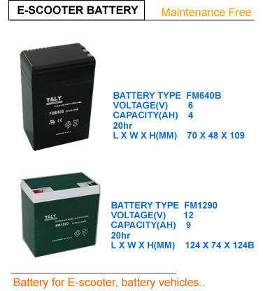 Motor Scooter Battery on Battery For E Scooter  Toy Motor   Car   China Batteries  Battery