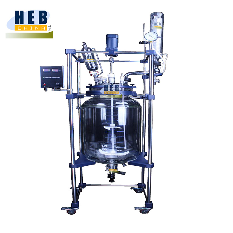 Jacketed Glass Reactor (EX-HEB-100)