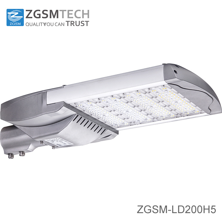 35W to 230W IP66 Philips Chips LED Street Light with UL Dlc Ce CB GS Certificates