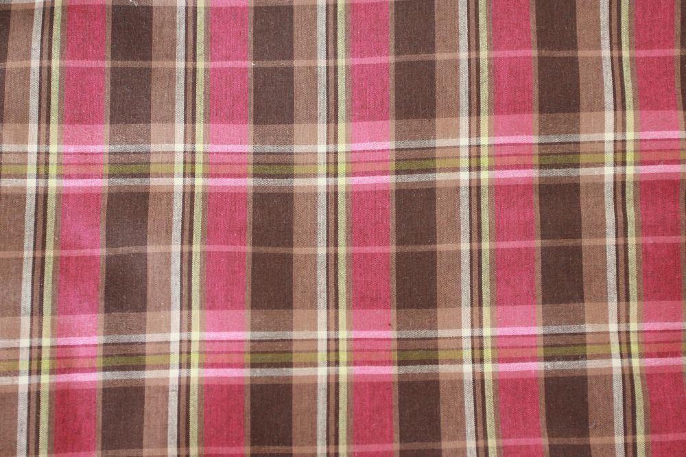 Polyester Yarn-Dyed Gingham Fabric (QDFAB-2908)