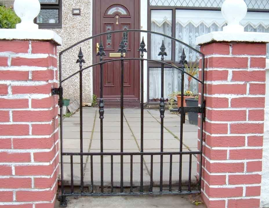 China wrought iron garden gates gate