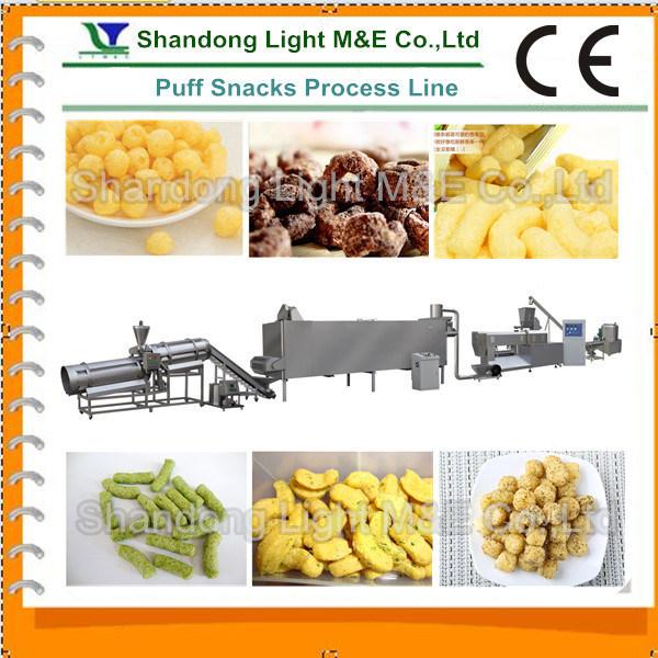 Puffed Snacks Production Line (LT65, LT70, LT85)