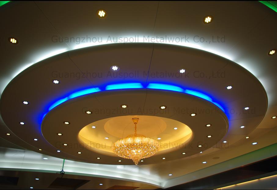 China aluminum ceiling design non standard aluminum for Ceiling design images