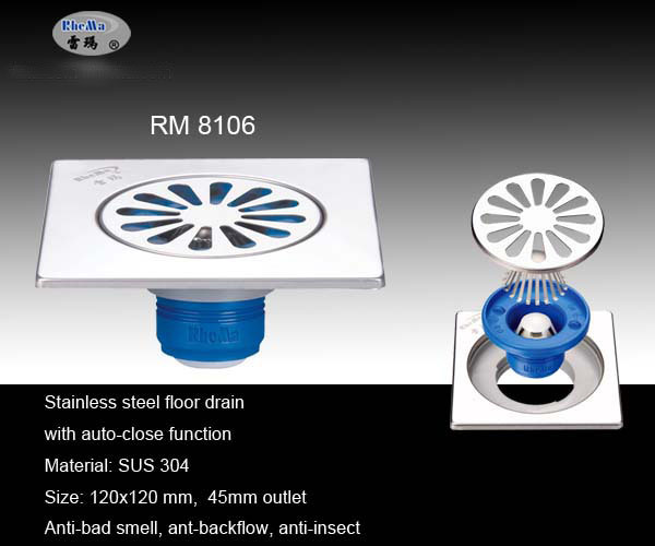Bathroom Floor Drain : China bathroom floor drains rm drain